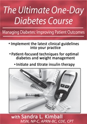Image ofThe Ultimate One-Day Diabetes Course: Managing Diabetes: Improving Pat