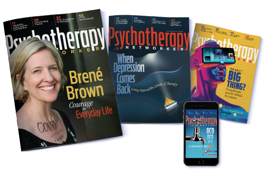 Subscribe to Psychotherapy Networker