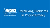 Image of Perplexing Problems in Polypharmacy