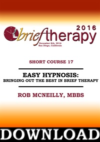 Image of BT16 Short Course 17 - Easy Hypnosis - Bringing Out the Best in Brief