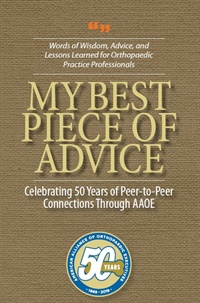 Image of AAOE 50th Anniversary Advice eBook