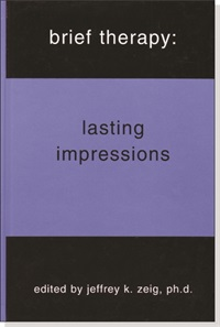 Image of Brief Therapy: Lasting Impressions