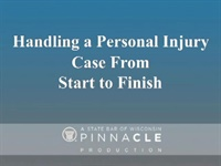 Image of CA2383 Handling a Personal Injury Case From Start to Finish