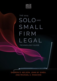Image of The 2019 Solo and Small Firm Legal Technology Guide 12th Edition