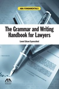 Image of  The Grammar and Writing Handbook for Lawyers