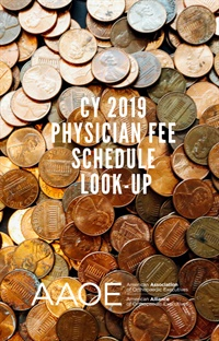 Image of CY 2019 Physician Fee Schedule Look-Up