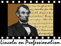 Image of Lincoln on Professionalism