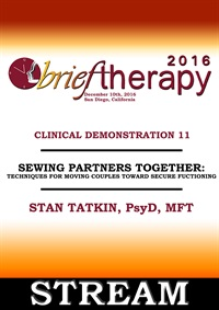 BT16 Clinical Demonstration 11 - Sewing Partners Together: Techniques