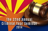 Image of32nd Annual Criminal Year Seminar 2014 - Part 1
