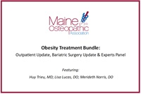 Image of Obesity Treatment Bundle: Outpatient Update, Bariatric Surgery Update
