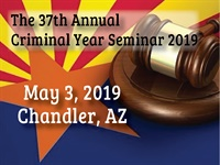 Image ofThe 37th Annual Criminal Year Seminar | Presented by APAAC and CLE Wes