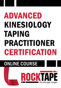 Image of RockTape Advanced Kinesiology Taping Certification Course