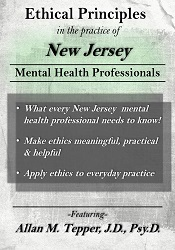 Image ofEthical Principles in the Practice of New Jersey Mental Health Profess