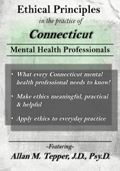 Image of Ethical Principles in the Practice of Connecticut Mental Health Profes