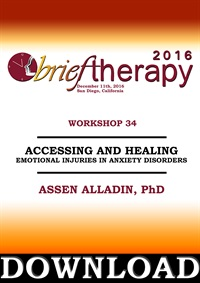 Image ofBT16 Workshop 34 - Accessing and Healing Emotional Injuries in Anxiety