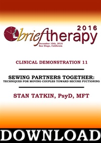 Image of BT16 Clinical Demonstration 11 - Sewing Partners Together: Techniques