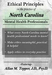 Image ofEthical Principles in the Practice of North Carolina Mental Health Pro