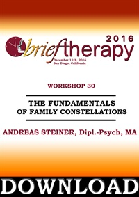 Image ofBT16 Workshop 30 - The Fundamentals of Family Constellations - Andreas