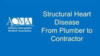 Image of Structural Heart Disease - From Plumber to Contractor