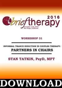 Image of BT16 Workshop 31 - Informal Trance Induction in Couples Therapy: Partn