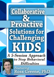 Image ofCollaborative & Proactive Solutions for Challenging Kids: A 5-Session