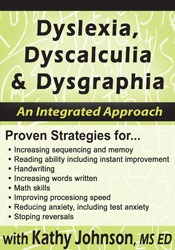 Image of Dyslexia, Dyscalculia & Dysgraphia: An Integrated Approach
