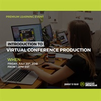 Image ofIntroduction to Virtual Conference Production