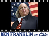Image of Ben Franklin on Ethics