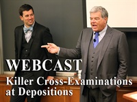 Image ofKiller Cross-Examination at Depositions by Roger Dodd and Matt Dodd |