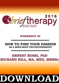 Image of BT16 Workshop 29 - How to Find Your Passion As A Mind-Body Psychothera