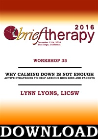 Image ofBT16 Workshop 35 - Why Calming Down is Not Enough: Active Strategies t