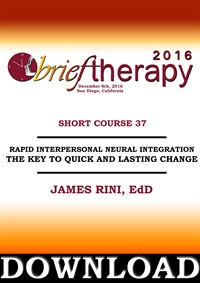 Image of BT16 Short Course 37 - Rapid Interpersonal Neural Integration: The Key