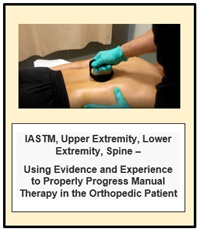 Image ofIASTM, Upper Extremity, Lower Extremity, Spine - Using Evidence and Ex